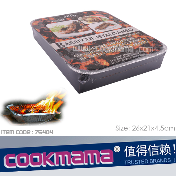 disposable instant grill