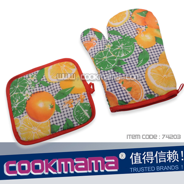 New design oven mitt