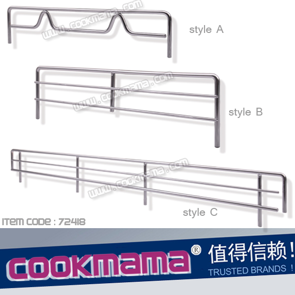 Shelves fence,Wire guard bar,Wire shelves fence